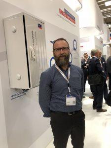 Tom at Intersolar 2018
